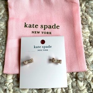 NWT kate spade Rose Gold Bow Earrings